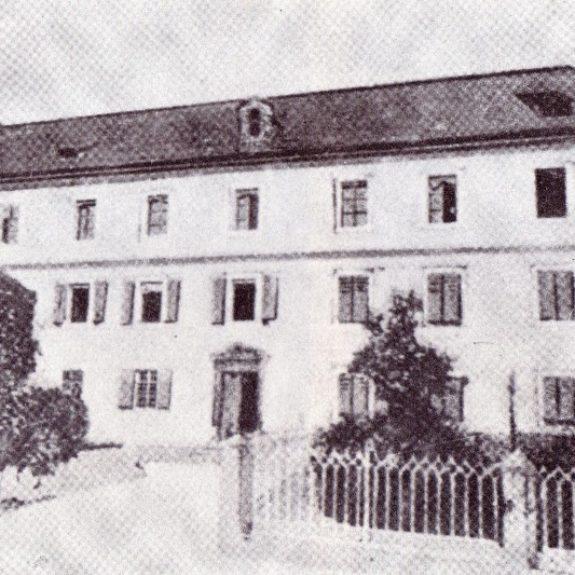 Das ursprüngliche Gymnasialgebäude