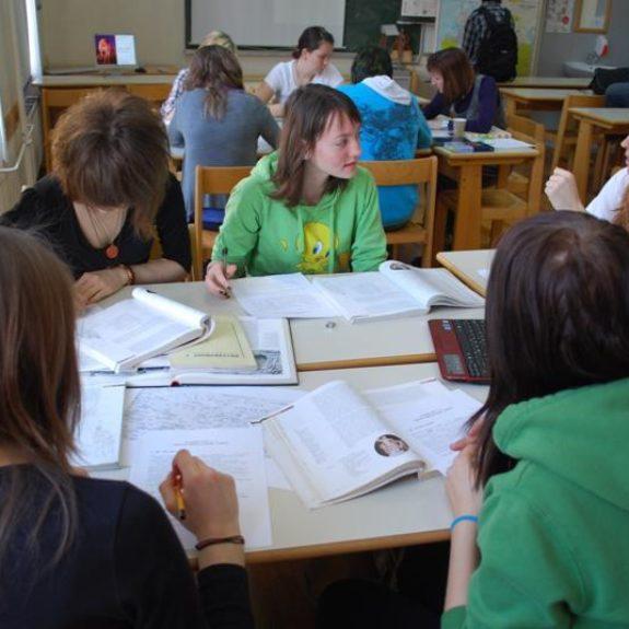 Teamteaching mit Slowenisch und Latein, 2010, Foto D. S.